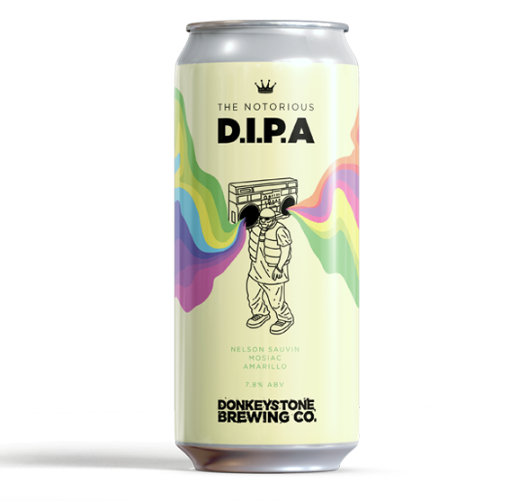 Notorious DIPA from Donkeystone Brewing Co